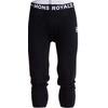 Mons Royale M's Shaun-off 3/4 Long Johns Black
